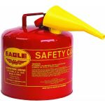 Steel Safety Can 5Gal Red