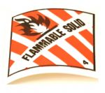 Shipping Label -- Flammable Solid