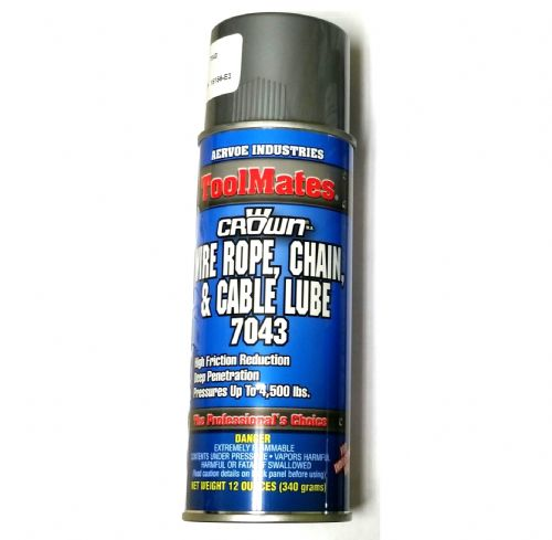 Wire Rope, Chain, and Cable Lube - Model Number: 7043
