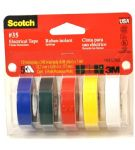 3M Electrical Tape 5PK Asst. Colors