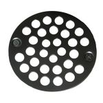 "4"" Stainless Shower Drain Grate"