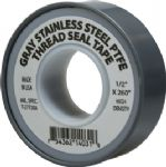 "1/2""x 260"" Gray Pipe Thread Tape"