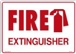 "Sign ""FIRE EXTINGUISHER"""