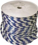 "5/8"" Blue/White Derby Rope (sold by the foot)"